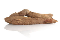Raw Cassava Stock Photos
