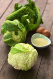 Raw Cauliflower Royalty Free Stock Photo
