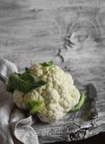 Raw cauliflower Stock Photos