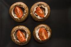 Raw champignons Royalty Free Stock Photos