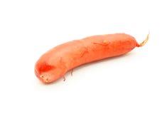 Raw cheese kransky hotdog Stock Photography