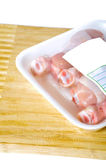 Raw chicken Stock Images