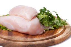 Raw chicken breast Stock Photo