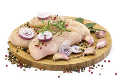 Raw chicken breast meat Stock Photography