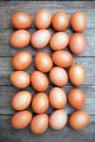 Raw chicken eggs Stock Photo