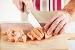 Raw Chicken filet Stock Photos