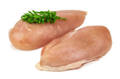 Raw Chicken Fillet Royalty Free Stock Photo