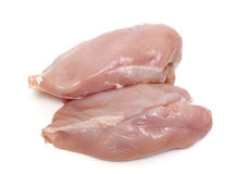 Raw chicken fillets Royalty Free Stock Photo