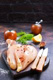 Raw chicken fillets Stock Image