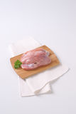 Raw chicken fillets Stock Images