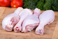 Raw chicken Royalty Free Stock Images