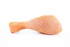 Raw chicken isolated royalty free stock photos