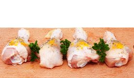 Raw chicken legs Stock Photo