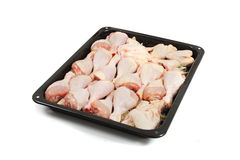 Raw chicken legs Royalty Free Stock Image