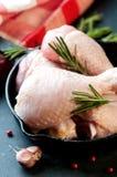 Raw chicken legs Royalty Free Stock Photo