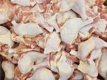 Raw chicken legs. In fresh market Royalty Free Stock Image