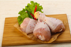 Raw chicken Royalty Free Stock Image