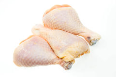 Raw chicken legs Royalty Free Stock Image