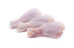 Raw chicken legs. Stock Image