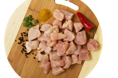 Raw chicken meat Stock Image