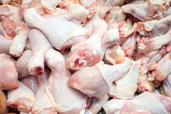 Raw chicken meat. Raw chicken meat sell in the market Royalty Free Stock Image