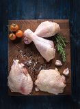 Raw chicken meat Stock Photos