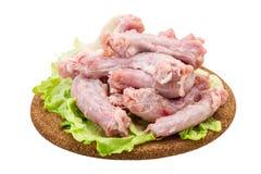 Raw chicken neck Royalty Free Stock Photo