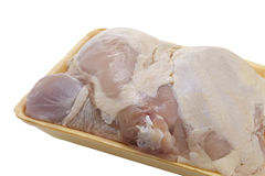 Raw Chicken Parts Stock Photo