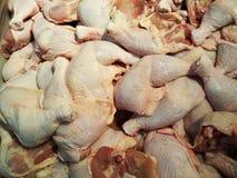 Raw chicken. Pile of fresh raw chicken Stock Image