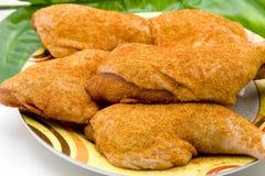 Raw chicken thighs Stock Photo