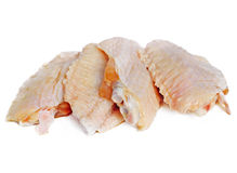 Raw Chicken Wings Stock Photography