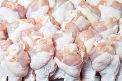 Raw chicken wings Royalty Free Stock Images