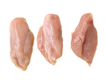 Raw chiken meat Stock Images