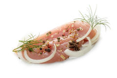 Raw chiken meat Stock Photography