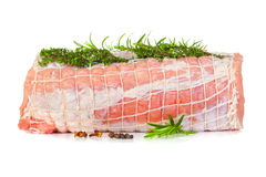 Raw chine of pork Royalty Free Stock Photography