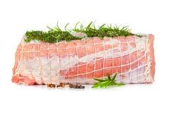 Raw chine of pork