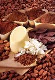 Raw chocolate. On studio setting Royalty Free Stock Image