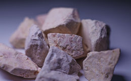 Raw clay. Royalty Free Stock Photos