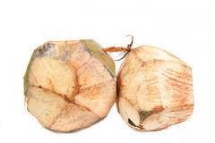 Raw coconut Royalty Free Stock Photos