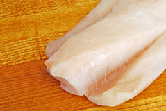 Raw Cod Stock Photo