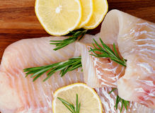 Raw Cod Fish Royalty Free Stock Photo