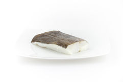 Raw cod fish. Seafood for sushi and other dishes Royalty Free Stock Image