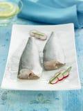 Raw cods Stock Image