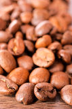 Raw coffee Stock Photo