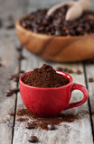 Raw coffee Royalty Free Stock Images
