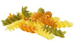 Raw color pasta Stock Photos