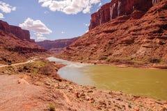 Raw Colorado River Landscape Stock Image
