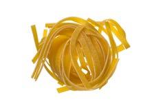 Raw colored pasta Stock Photo