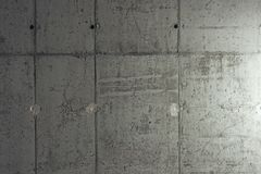 Raw Concrete Wall Background Stock Photography