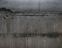 Raw concrete wall texture. Stock Images